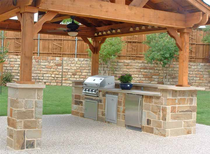 1000 images about cocinas exteriores on pinterest for Cocinas de patio rusticas